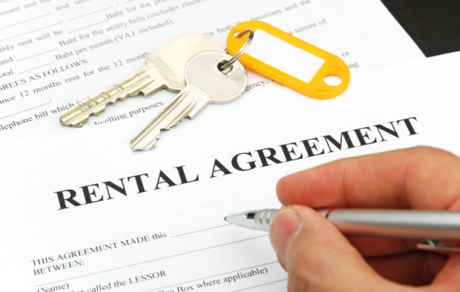 Renting Agreement Form Subletting Apartments for Rent